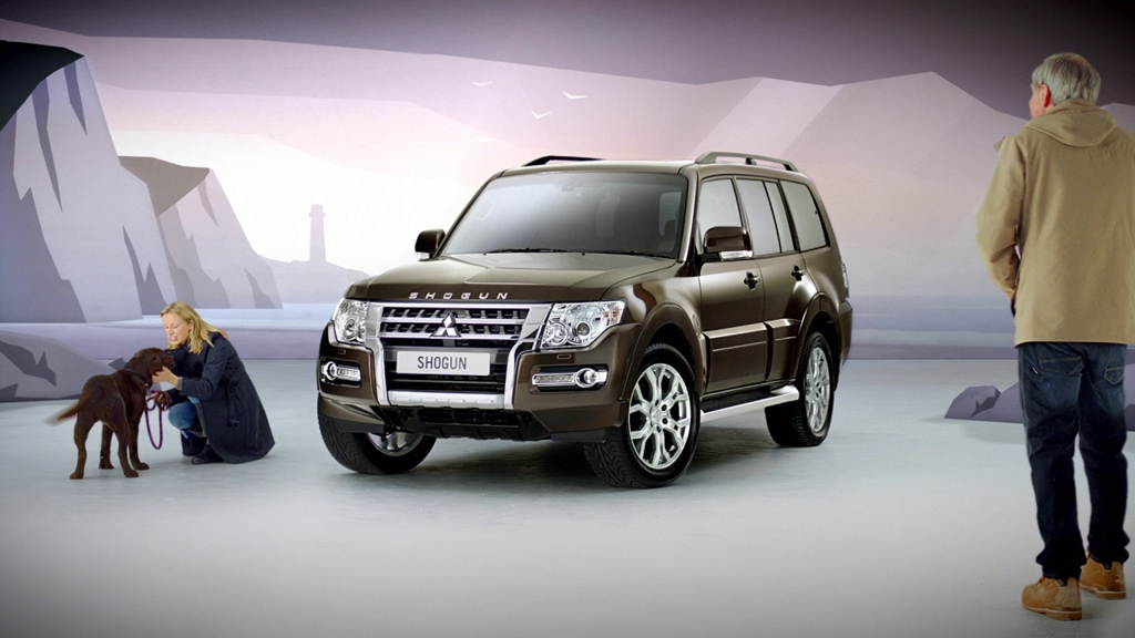 Mitsubishi Shogun - Changing Perceptions